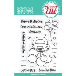 Journey, Avery Elle Clear Stamps -
