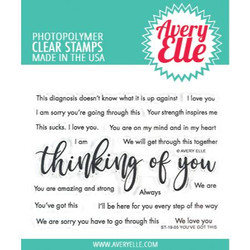 You've Got This, Avery Elle Clear Stamps -