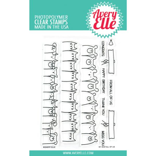 All Of Us, Avery Elle Clear Stamps -