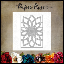Bloom Layered Background 2, Paper Rose Dies -