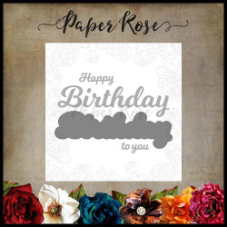 Happy Birthday To You, Paper Rose Dies -