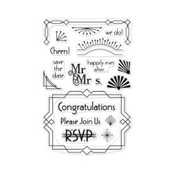 Deco Celebration, Hero Arts Clear Stamps - 857009215962