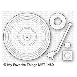 Turntable, My Favorite Things Die-Namics - 849923029831