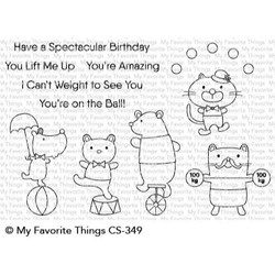 Spectacular Birthday, My Favorite Things Clear Stamps - 849923029954