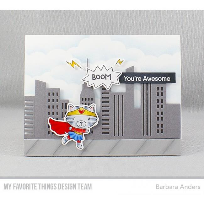 Super Cat, My Favorite Things Clear Stamps - 849923029923
