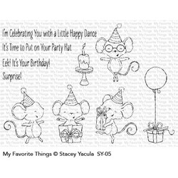 It's A Mice Time To Celebrate, My Favorite Things Clear Stamps - 849923030011