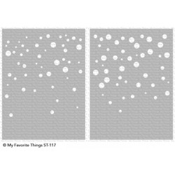 Card Sized Confetti Set, My Favorite Things Stencils - 849923030004