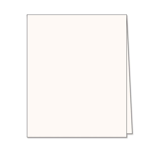 Hero Hues Antique Ivory Top Folded Cards, Hero Arts Notecards - 857009211070