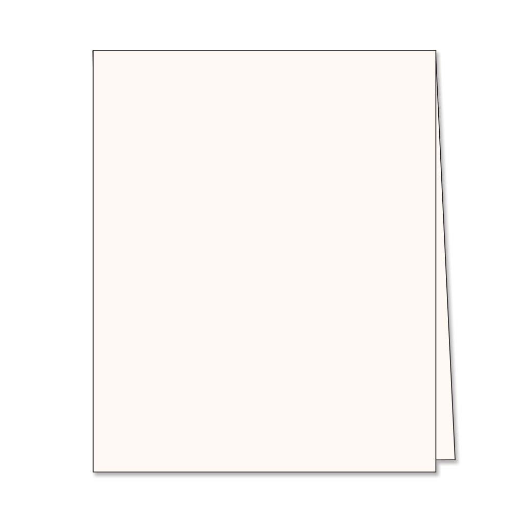 Hero Hues Antique Ivory Top Folded Cards, Hero Arts Notecards - 857009211070