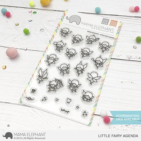 Little Fairy Agenda, Mama Elephant Clear Stamps -