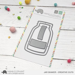 Jar Shaker, Mama Elephant Creative Cuts -