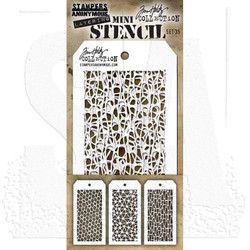 Mini Stencil Set #35, Tim Holtz Stencils -