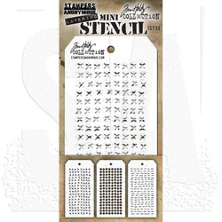 Mini Stencil Set #33, Tim Holtz Stencils -
