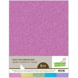 Sparkle Cardstock - Spring, Lawn Fawn Cardstock -