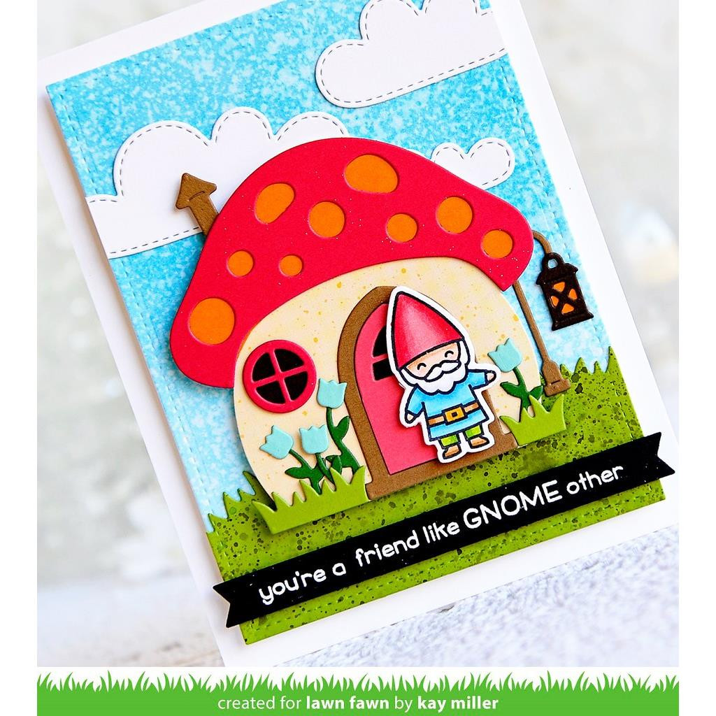 Mushroom House, Lawn Cuts Dies - 352926724516