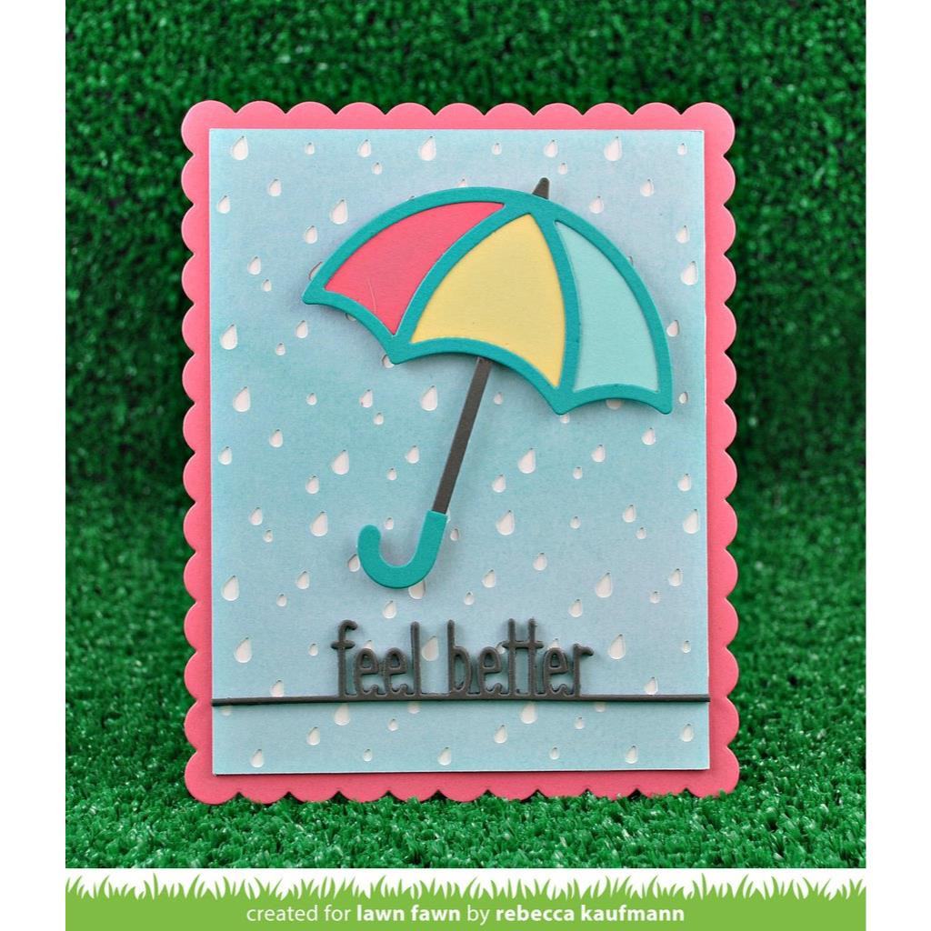 Stitched Umbrella, Lawn Cuts Dies - 352926724066