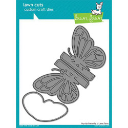 Pop-Up Butterfly, Lawn Cuts Dies - 352926723908