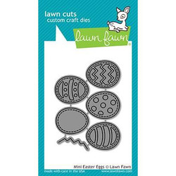 Mini Easter Eggs, Lawn Cuts Dies - 352926723762