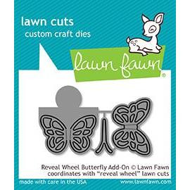 Reveal Wheel Butterfly Add-On, Lawn Cuts Dies - 352926723526
