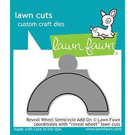 Reveal Wheel Semicircle Add-On, Lawn Cuts Dies - 352926723458