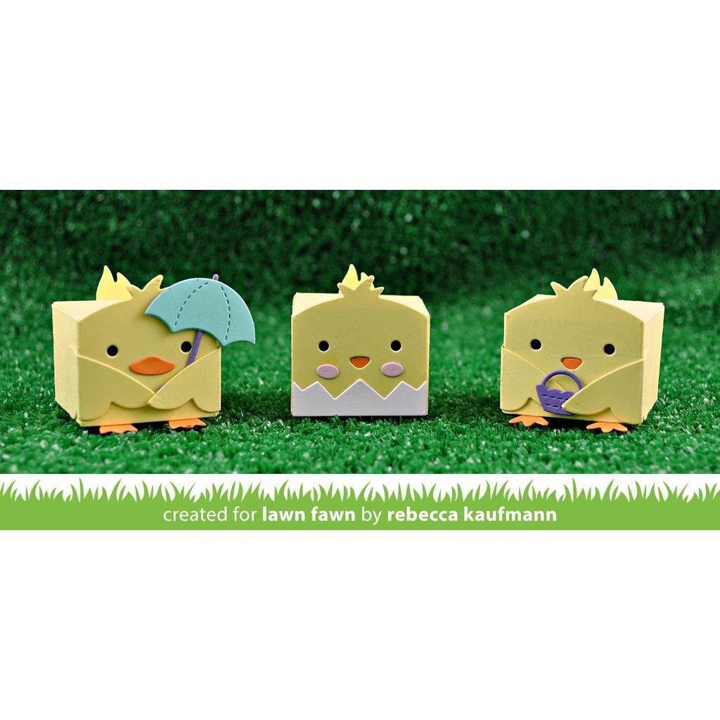 Tiny Gift Box Chick and Duck Add-On, Lawn Cuts Dies - 352926723380