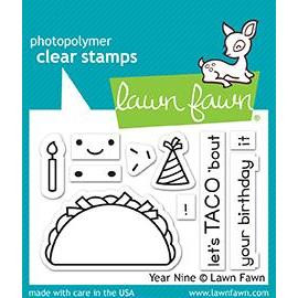 Year Nine, Lawn Fawn Clear Stamps - 352926722604