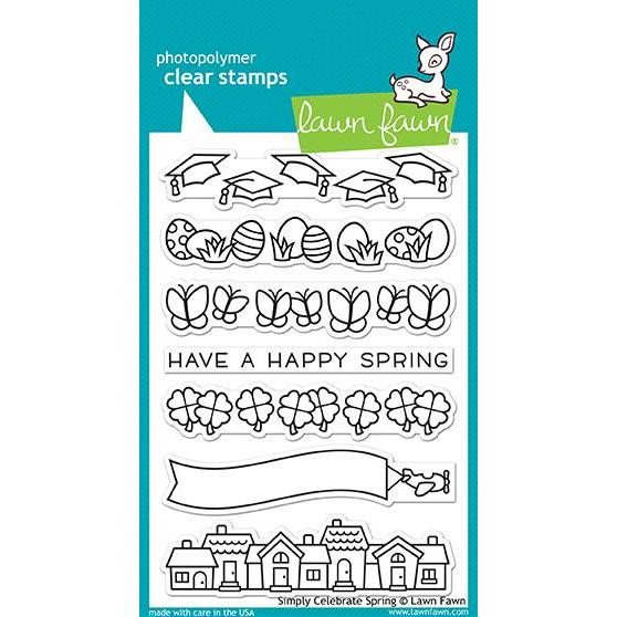 Simply Celebrate Spring, Lawn Fawn Clear Stamps - 352926722154