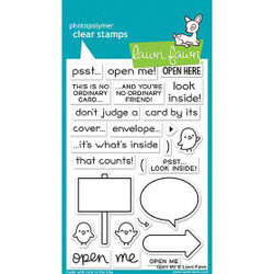 Open Me, Lawn Fawn Clear Stamps - 352926721928