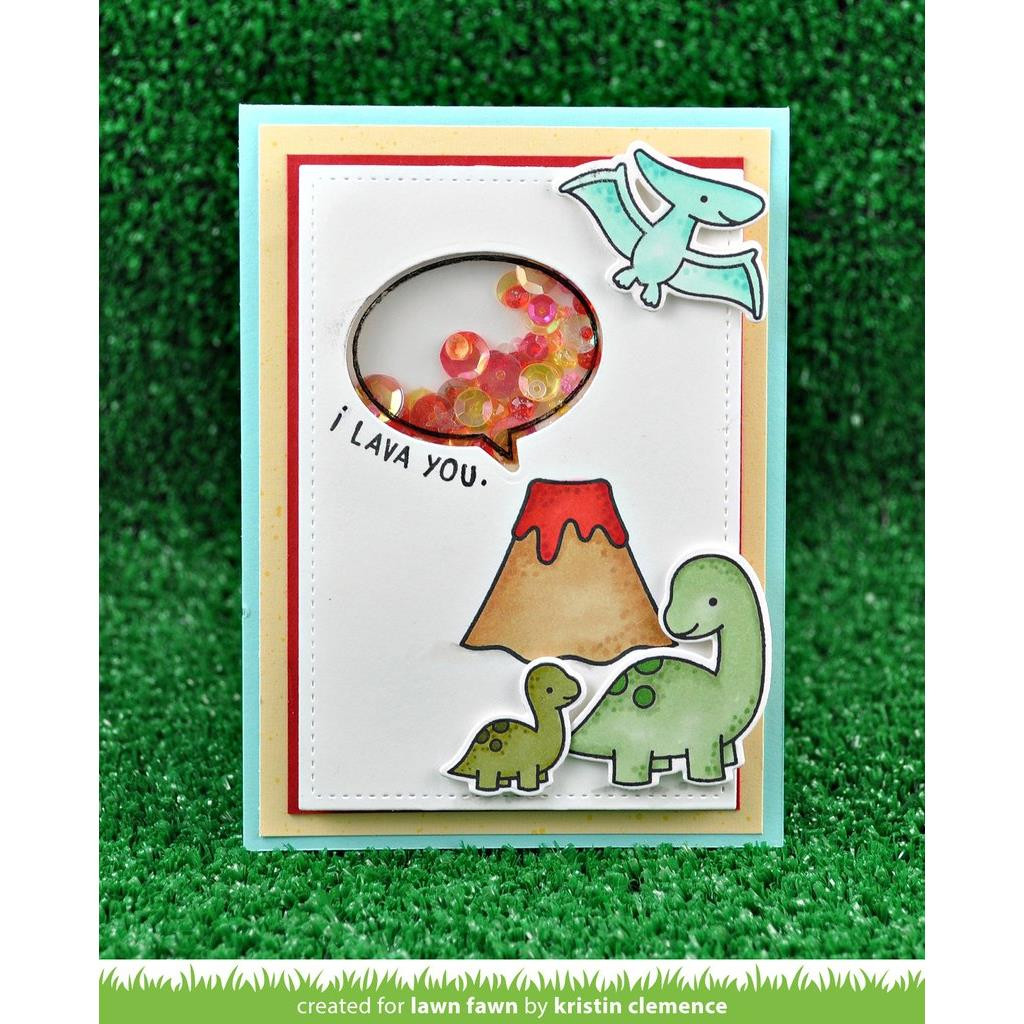 Rawrsome, Lawn Fawn Clear Stamps - 352926721782