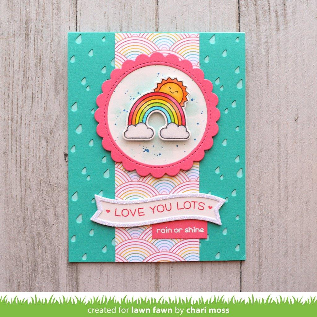 Rain Or Shine Before 'n Afters, Lawn Fawn Clear Stamps - 352926721300