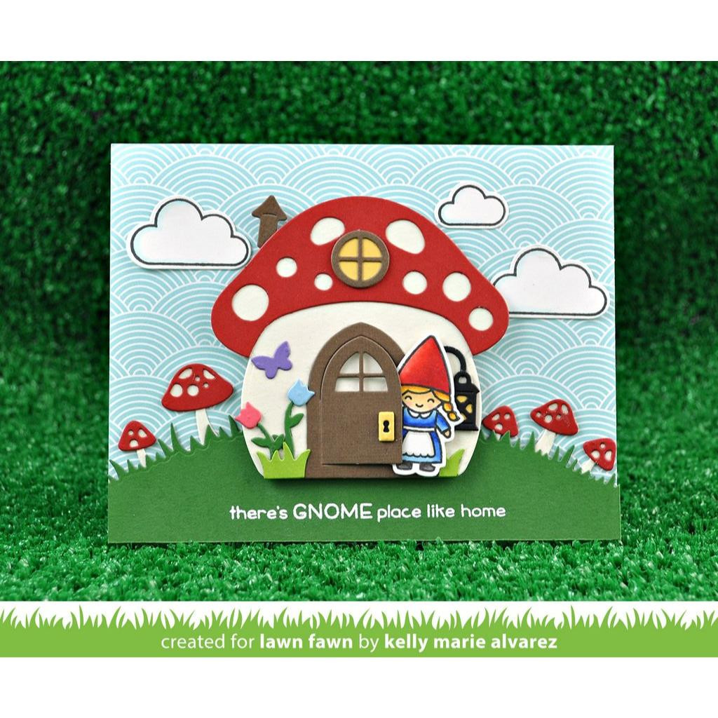 Really Rainbow Scallop, Lawn Fawn Petite Paper Pack - 352926718508