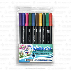 Bonnie's Favorites Tombow Set 1, Art Impressions Markers - 750810795862