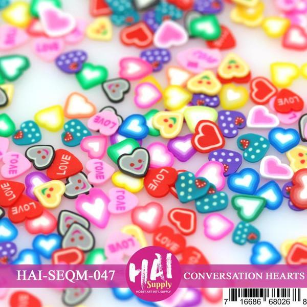 Conversation Hearts, HAI Confetti - 716686680268