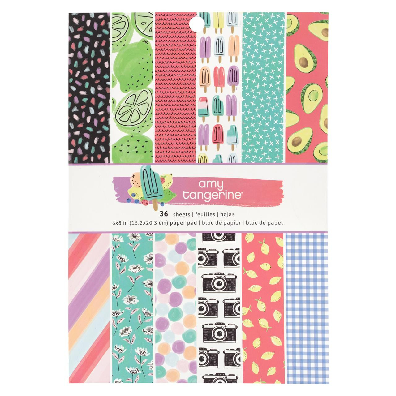 Stay Sweet, Amy Tangerine 6 X 8 Paper Pad - 718813511988