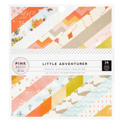 Little Adventurer Girl, Pink Paislee 6 X 6 Paper Pad - 718813107440