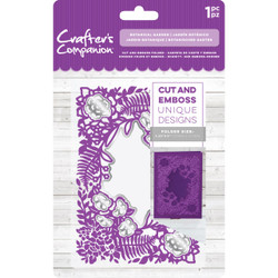 Botanical Garden, Crafter's Companion Gemini Cut & Embossing Folder - 709650850019
