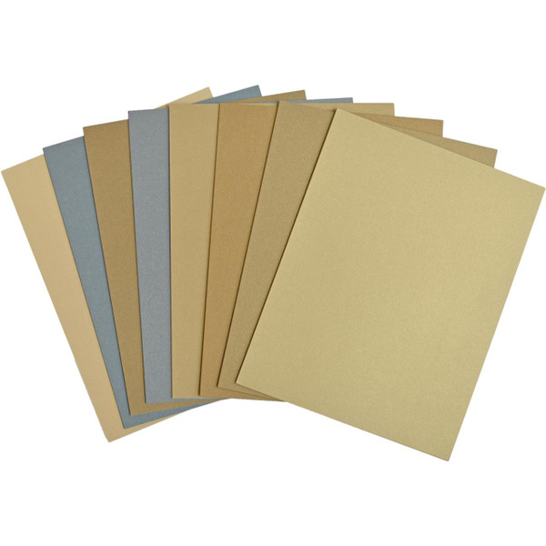 Precious Metals Luxury Mixed Card Pack, Crafter's Companion 8.5 X 11 Cardstock - 709650839441