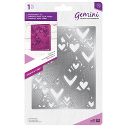 Create A Card - Only Love, Crafter's Companion Gemini Die - 709650883086