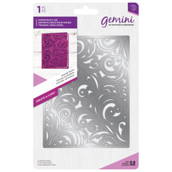 Create A Card - Grande Swirls, Crafter's Companion Gemini Die - 709650883093