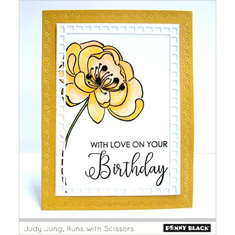 Good Wishes, Penny Black Clear Stamps - 759668305414