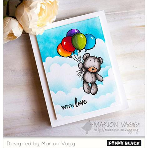 Balloon Ride, Penny Black Clear Stamps - 759668305452