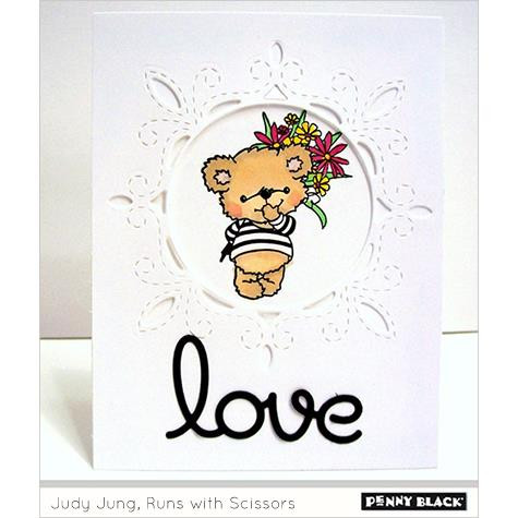Smiling, Penny Black Clear Stamps - 759668305469