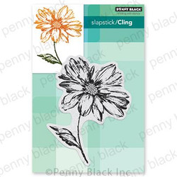 Radiant, Penny Black Cling Stamps - 759668406692