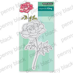 Timeless, Penny Black Cling Stamps - 759668406876