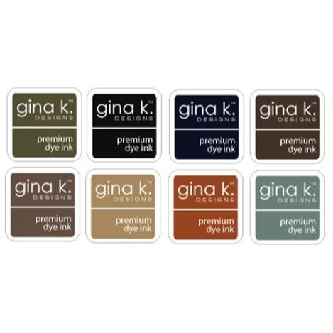 Neutral Assortment, Gina K Designs Ink Cube - 609015548356