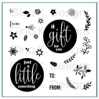 Mini Wreath Builder, Gina K Designs Clear Stamps - 609015542194