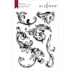 Baroque Motifs, Altenew Clear Stamps - 704831298024