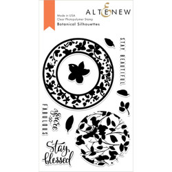 Botanical Silhouettes, Altenew Clear Stamps - 704831298130