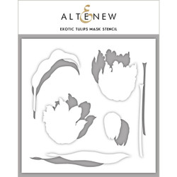 Exotic Tulips, Altenew Mask Stencil - 704831298239