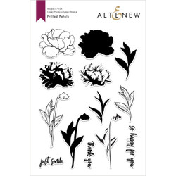 Frilled Petals, Altenew Clear Stamps - 704831298260